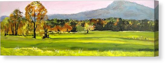 North Amherst View Canvas Print