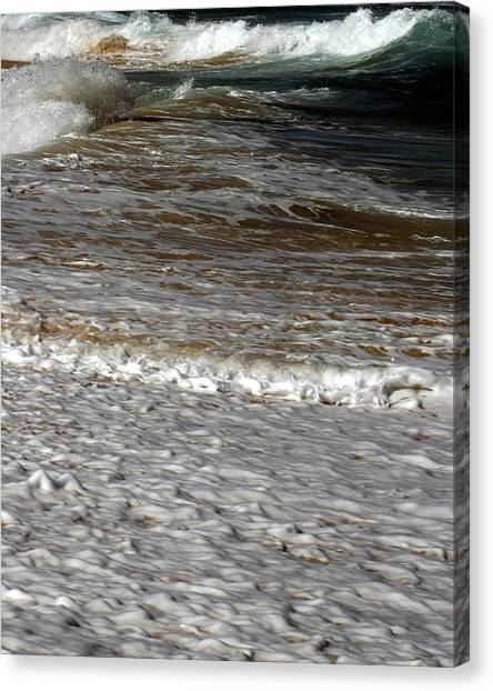 North Beach Oahu I Canvas Print