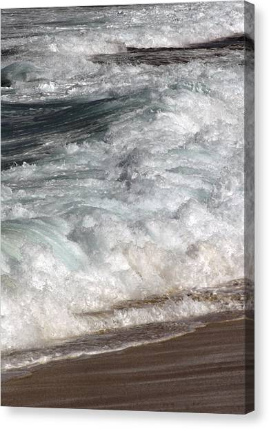 North Beach, Oahu II Canvas Print