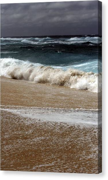 North Beach, Oahu V Canvas Print
