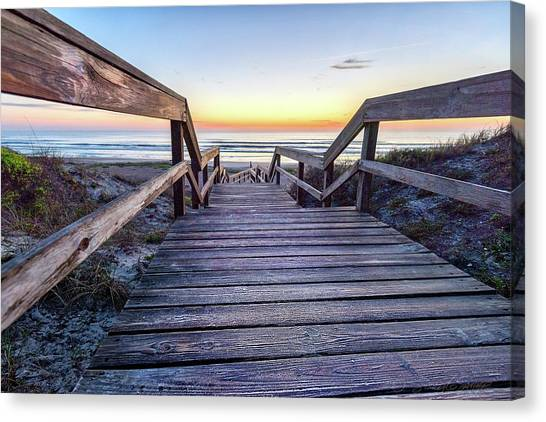 North Beach Sunrise Canvas Print