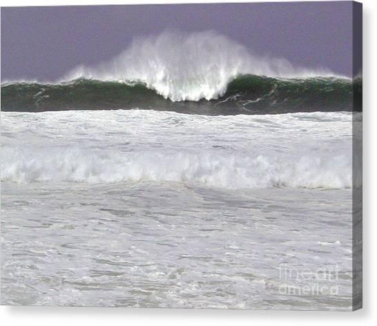 North Beach Winter Canvas Print