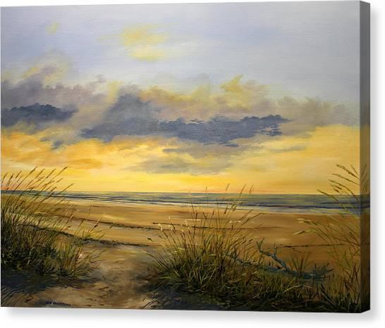 North Captiva Sunset Canvas Print