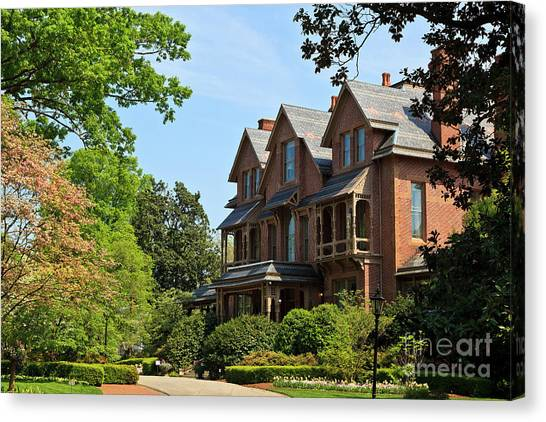 North Carolina Executive Mansion Canvas Print