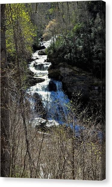 North Carolina Falls Canvas Print