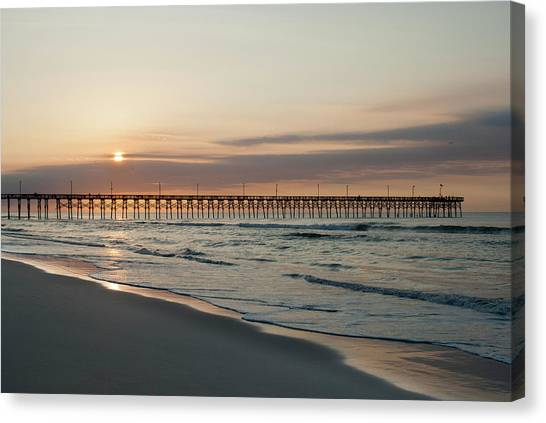 North Carolina Sunrise Canvas Print