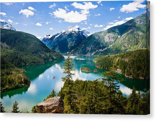 North Cascades Canvas Print
