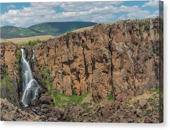 North Clear Creek Falls, Creede, Colorado 2 Canvas Print