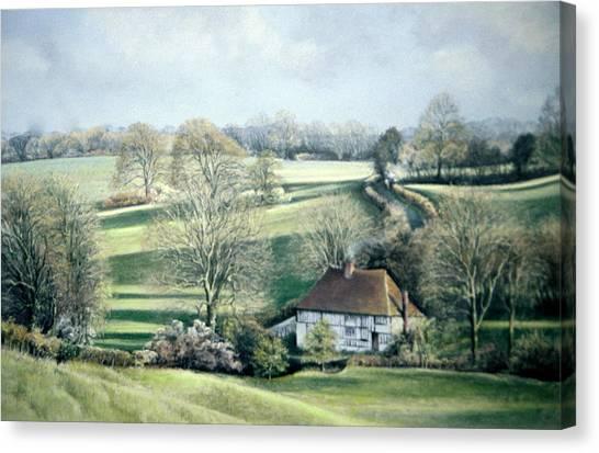 North Downs Hideaway Canvas Print