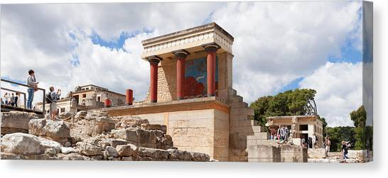 Minoan Canvas Print - North Entrance Of Minoan Palace by Panoramic Images