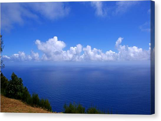 Kalaupapa Cliffs Canvas Print - North Molokai Diptych L by Kevin Smith