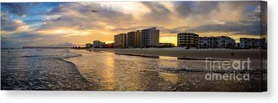 North Myrtle Beach Sunset Canvas Print
