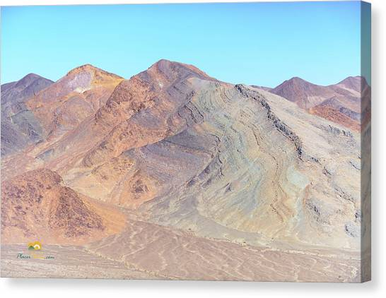 Canvas Print featuring the photograph North Of Avawatz Mountain by Jim Thompson