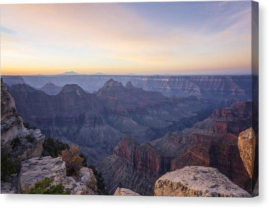 North Rim Canvas Print - North Rim Sunrise 2 - Grand Canyon National Park - Arizona by Brian Harig