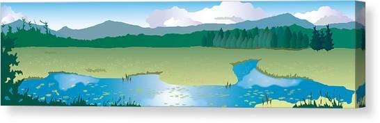 North Sandwich Canvas Print by Marian Federspiel