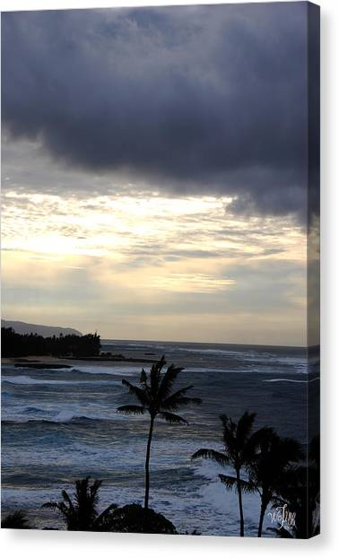 North Shore Morning Canvas Print by Thea Wolff