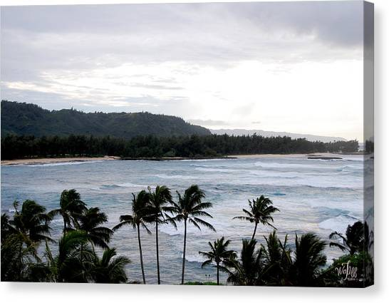 North Shore Canvas Print by Thea Wolff