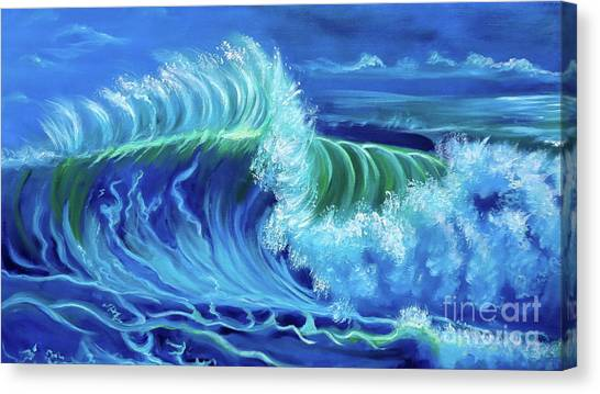 North Shore Wave Hawaii Jenny Lee Discount Canvas Print