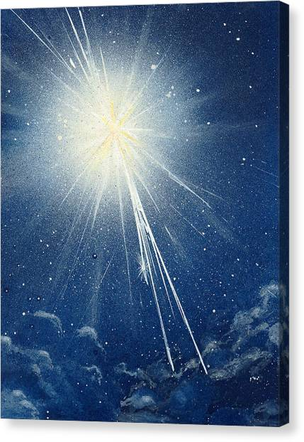 North Star Canvas Print