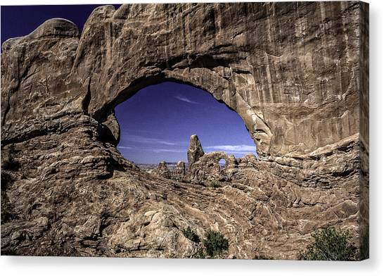 North Window, Arches Canvas Print
