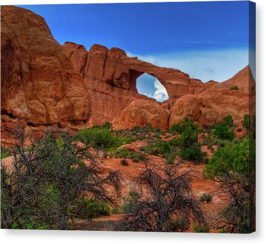 North Window Portal Canvas Print