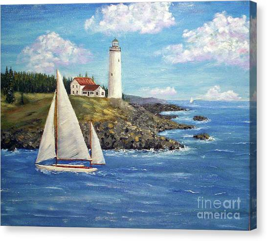 Northeast Coast Canvas Print