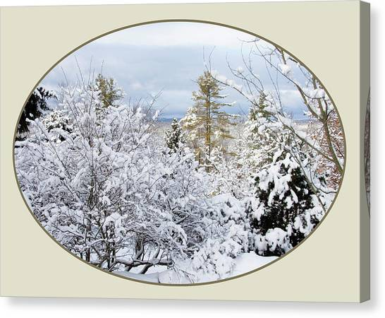 northeast USA photography button Canvas Print