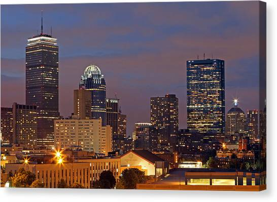 Northeastern University Canvas Print - Northeastern University by Juergen Roth