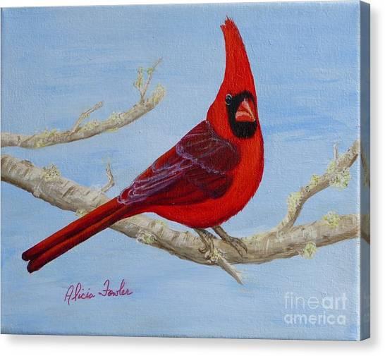 Northern Cardinal 2 Canvas Print