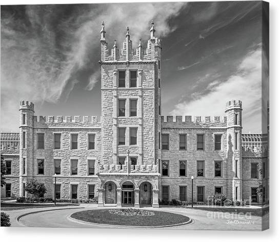Northern Illinois University Canvas Print - Northern Illinois University Altgeld Hall by University Icons