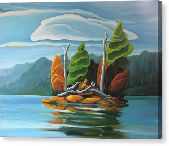 Northern Island Canvas Print