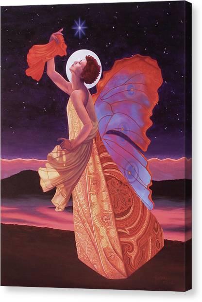 Warrior Goddess Canvas Print - Northern Light by Helena Rose
