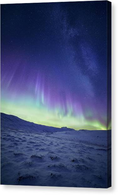 Aurora Borealis Canvas Print - Northern Light by Tor-Ivar Naess