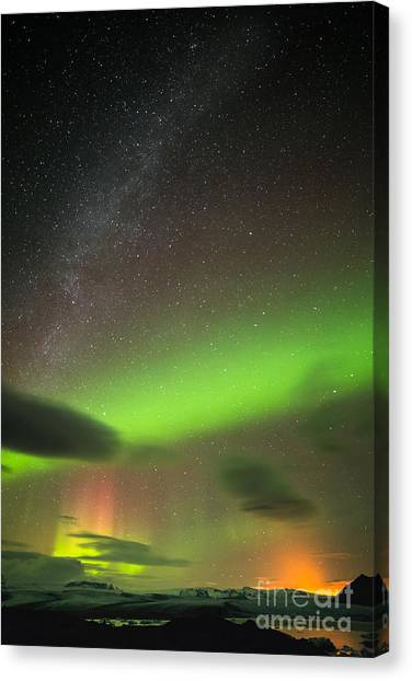 Northern Lights 8 Canvas Print