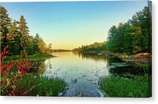Northern Ontario Lake Canvas Print
