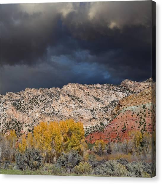 Northern Uintas Autumn Canvas Print