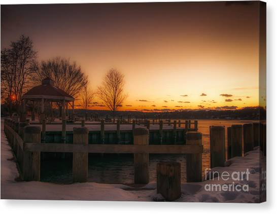 Northport Sunset Canvas Print