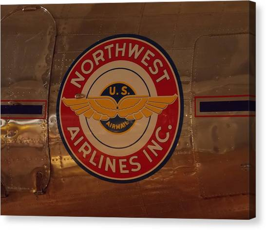 Northwest Airlines 1 Canvas Print