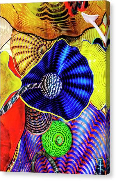 Northwest Glass 2 Canvas Print