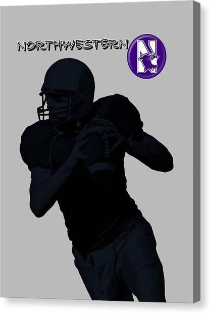 Northwestern Football Canvas Print