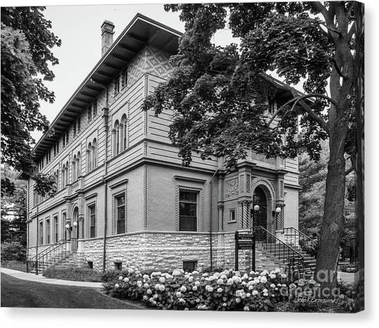 Northwestern University Canvas Print - Northwestern University Annie May Swift by University Icons