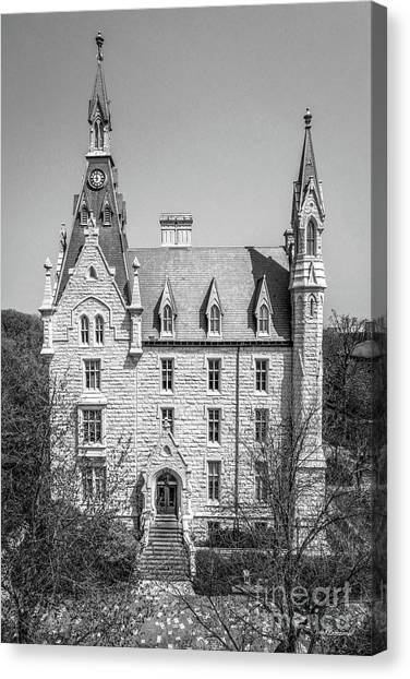 Northwestern University Canvas Print - Northwestern University University Hall Full Elevation by University Icons