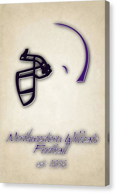 Northwestern University Canvas Print - Northwestern Wildcats by Joe Hamilton