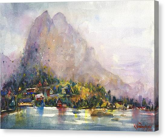 Norway Canvas Print - Norway by Kristina Vardazaryan