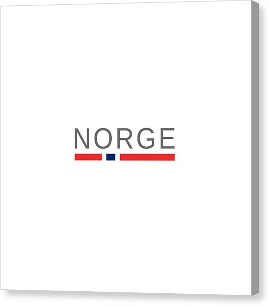 Farsund Canvas Print - Norway Norge by Tshirtsnorway