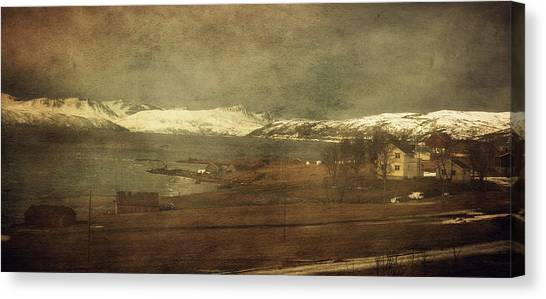 Norwegian Coast Canvas Print