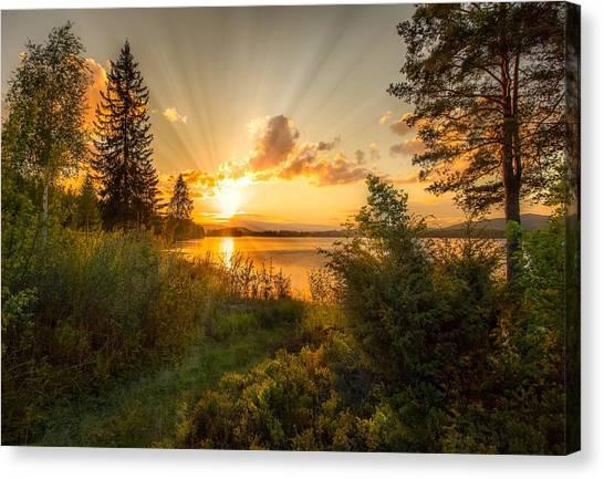 Norwegian Landscape Canvas Print