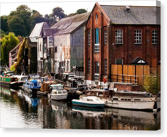 Norwich River Canvas Print