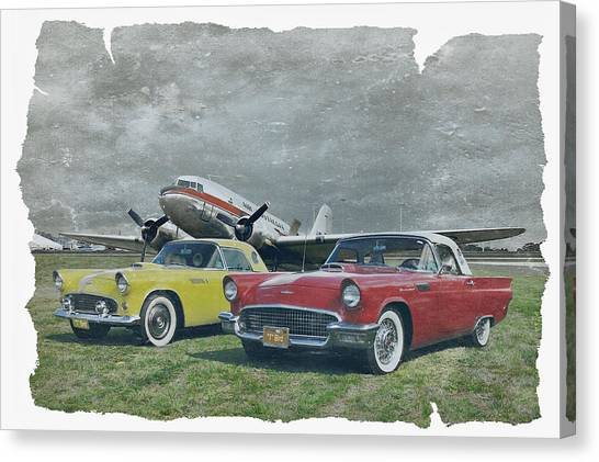 Nostalgia Airlines Canvas Print