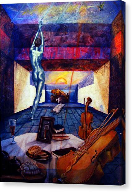 Nostalgia Canvas Print by Maritza Sanipatin
